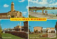Glen Waverley, Police Academy, Swimming Pool, Municipal Offices, Shopping Centre