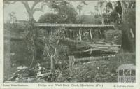 Bridge over Wild Duck Creek, Heathcote