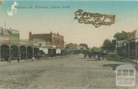 Firebrace Street, Horsham, looking north, 1912