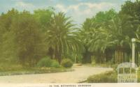 In the Botanical Gardens, Horsham, 1951