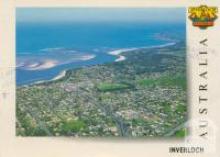 Aerial view of Inverloch looking towards Eagle Nest