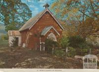St Peter's Church of England, Jamieson