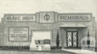 Blake Bros, Memorial, Plenty Road, Kingsbury