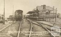 Railway Station looking west, Korumburra