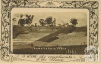 Laanacoorie Weir, 1910