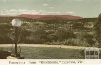 Panorama from Brocklesby, Lilydale, 1964