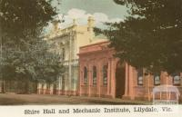 Shire Hall and Mechanic Institute, Lilydale, 1964