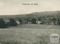 Panorama of Loch, 1951