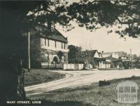 Main Street, Loch, 1951