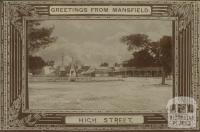 High Street, Mansfield, 1902