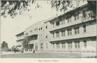 Base Hospital, Mildura, 1948