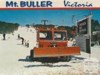 Snow Plough, Mount Buller, 1974