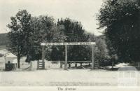 Myrtleford Recreation Reserve, the Avenue, Myrtleford