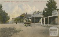High Street, Nagambie, looking south, western side, 1907