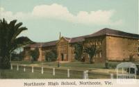 Northcote High School, Northcote