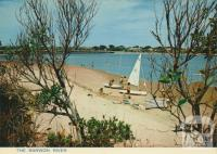 The Barwon River and Bridge in background, Ocean Grove