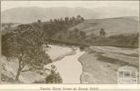 Tambo River Scene at Ensay Hotel, Omeo