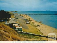 View of the Esplanade and Corio Bay, Portarlington