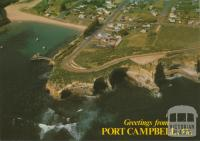 Aerial view of Port Campbell