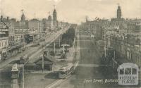Sturt Street, Ballarat, 1917