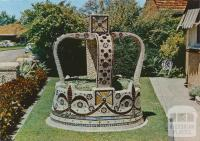Mosaic Imperial Crown at the Shell House, Ballarat