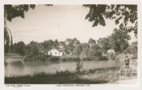 Lake Weeroona, Bendigo, 1940