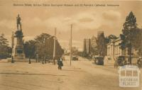 Gordon Statue, Geological Museum and St Patricks Cathederal, East Melbourne