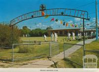 Kerang Bowling Club, 1975