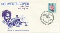 Souvenir Cover Lake Tyers, 1971