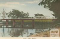 Snowy River Bridge, 1948