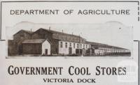 Government Cool Stores, Port of Melbourne, 1932