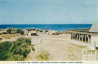 Solaruim and Sports Area, Lord Mayor's Holiday Camp, Portsea