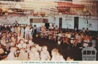 In the Dining Hall, Lord Mayor's Holiday Camp, Portsea