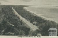 Looking to Rosebud from the Rocks, 1942