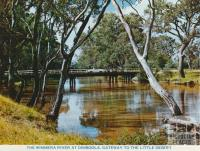 The Wimmera River at Dimboola, Gateway to the Little Desert