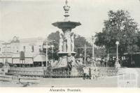 Alexandra Fountain, Bendigo