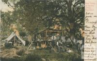 Bush Camp at Snowy River, Gippsland