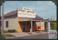 Noorat Post Office, 1981