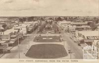 Main Street, from the water tower, Bairnsdale