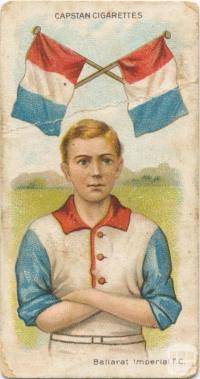 Ballarat Imperial Football Club, Capstan Cigarettes Card