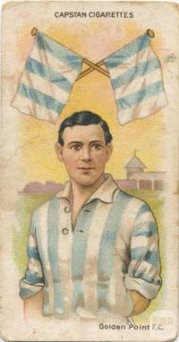 Golden Point Football Club, Capstan Cigarettes Card