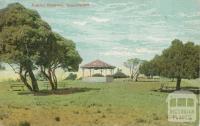 Public Reserve, Queenscliff, 1909