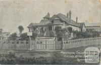 Ministering Children's League, cottage by the sea, Queenscliff, 1906