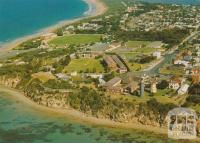 Aerial view of the Fort at Queenscliff, 1985