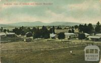General view of Riddell and Mount Macedon