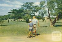 In the Park at Seaspray, 1975