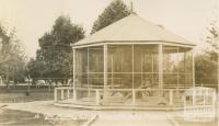 The monkey house, Queens Gardens, Shepparton