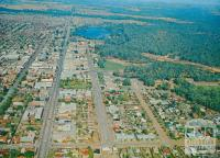 Aerial view of Shepparton