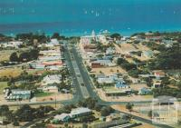Aerial view over Sorrento and Port Phillip Bay, 1987
