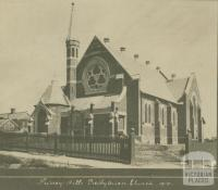 Surrey Hills Presbyterian Church, 1910